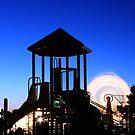 Playground at Night by Tim Wright