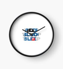 BEEP, BLOOP, BLEEP Clock