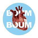 «Heart blue circle» de paleoarteymas