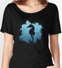 Sea Horse Scuba Horse Fool Horse Gift Child Zoo Diver Coral Reef Women's Relaxed Fit T-Shirt