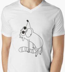 Ghost of Rigby Men's V-Neck T-Shirt