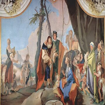 Rachel Hiding the Idols-Giovanni Battista Tiepolo by LexBauer