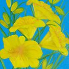 Yellow Day Lily by elajanus
