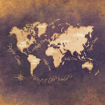 world map 144 mistery #worldmap #map by JBJart