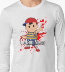 I Main Ness - Super Smash Bros. Long Sleeve T-Shirt