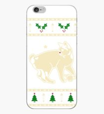 Christmas Japanese Bobtail Cat Gift iPhone Case
