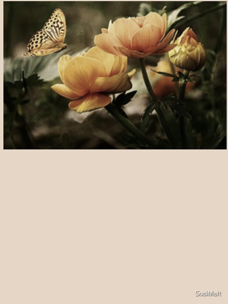 Blumen mit Schmetterling von SusiMalt