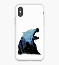 Vinilo o funda para iPhone Jon Snow - Rey del Norte