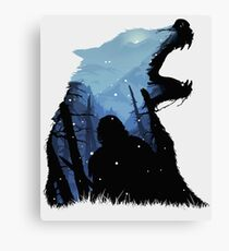 Jon Snow - King of The North Canvas Print