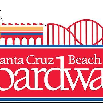 Santa Cruz Boardwalk by Cornchipsrpunk