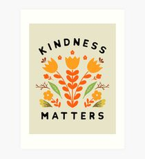Lámina artística la amabilidad importa