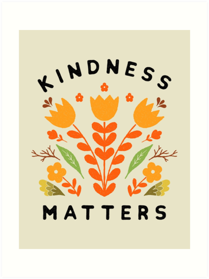 kindness matters by Matthew Taylor Wilson