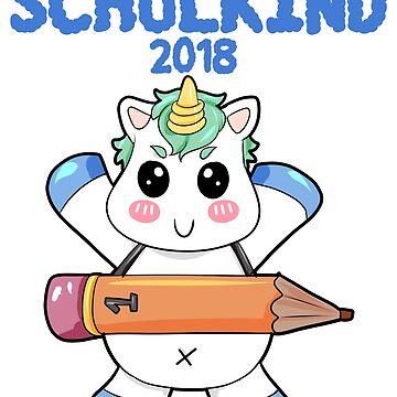 Schoolchild unicorn by Moonpie90