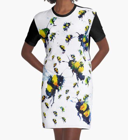 BAANTAL / Pollinate / Bees Graphic T-Shirt Dress