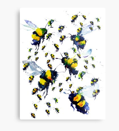 BAANTAL / Pollinate / Bees Metal Print