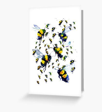 BAANTAL / Pollinate / Bees Greeting Card