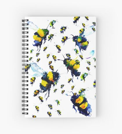 BAANTAL / Pollinate / Bees Spiral Notebook