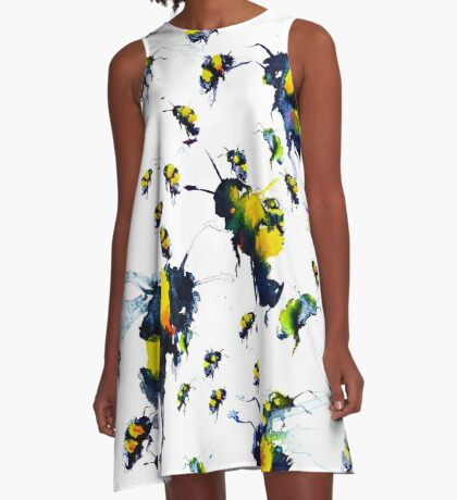 BAANTAL / Pollinate / Bees A-Line Dress