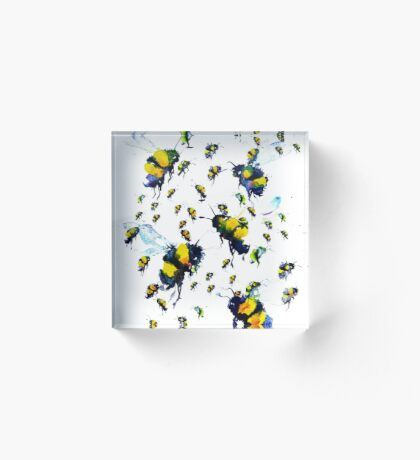 BAANTAL / Pollinate / Bees Acrylic Block