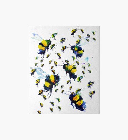 BAANTAL / Pollinate / Bees Art Board Print