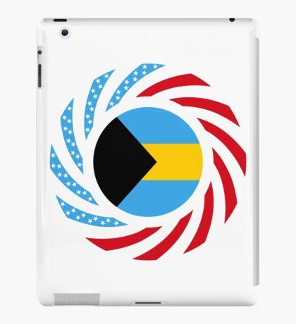 Bahamian American Multinational Patriot Flag Series iPad Case/Skin
