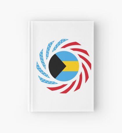 Bahamian American Multinational Patriot Flag Series Hardcover Journal