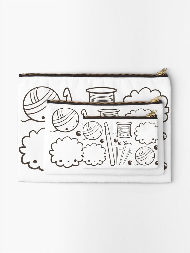 Alternative Ansicht von süß häkeln - Kawaii Bastelbedarf Täschchen