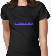 Baguette spaceship from Snail Trek Women's Fitted T-Shirt