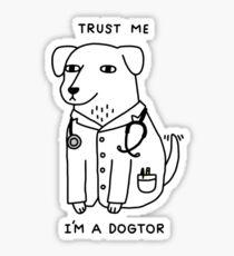 Dogtor Sticker