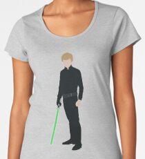Luke Skywalker 1 Women's Premium T-Shirt