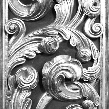 Decorative metalic foliage ornaments by gavila