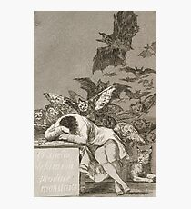 The Sleep of Reason Produces Monsters by Francisco Goya Photographic Print