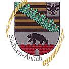 Sachsen-Anhalt...Coat of Arms by edsimoneit