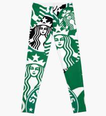 Starbucks logo collage  Leggings