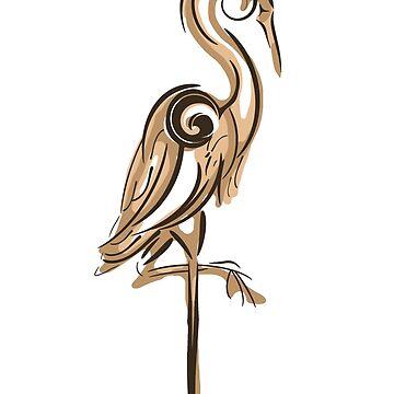 Heron by RealBooBear