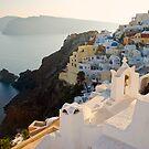 Santorini Golden hour by Monica Di Carlo
