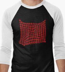 COME INSIDE (RED S/F) Camiseta ¾ estilo béisbol