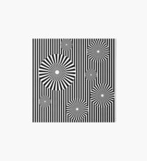 MOVING CIRCLES (BLACK) Lámina rígida