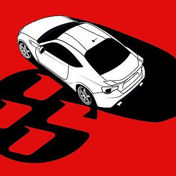 GT86 by AutomotiveArt