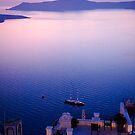 Santorini Terraces by Monica Di Carlo