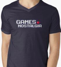 GamesNostalgia Men's V-Neck T-Shirt