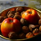 Apples and Nuts. by Gilberte