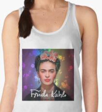 Frida Kahlo Colorful Women's Tank Top