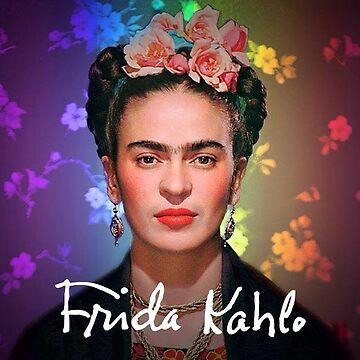 Frida Kahlo Colorful by edleon