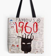 Basquiat 1960 Famous Tote Bag