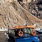Santorini (boat) by Monica Di Carlo