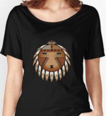 Katsina Sun Face Women's Relaxed Fit T-Shirt