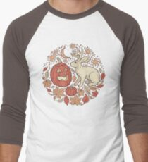 Halloween Friends | Autumn Palette Men's Baseball ¾ T-Shirt