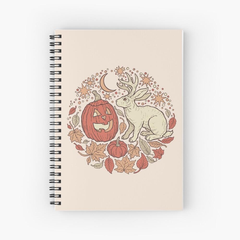 Halloween Friends | Autumn Palette Spiral Notebook