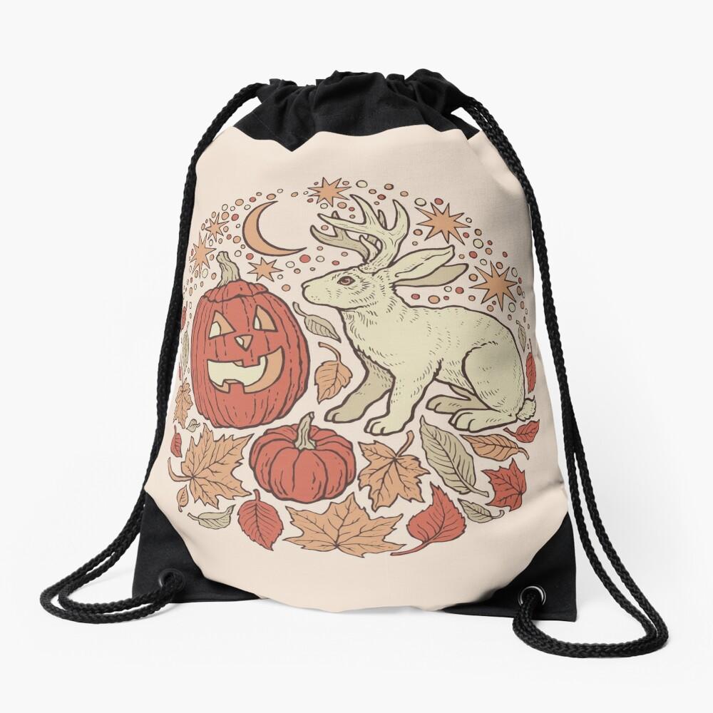 Halloween Friends | Autumn Palette Drawstring Bag